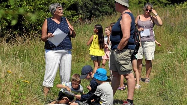 Den 10. juli er der bedsteforældredag ved Teglværkssøerne. Foto: Allan Mortensen