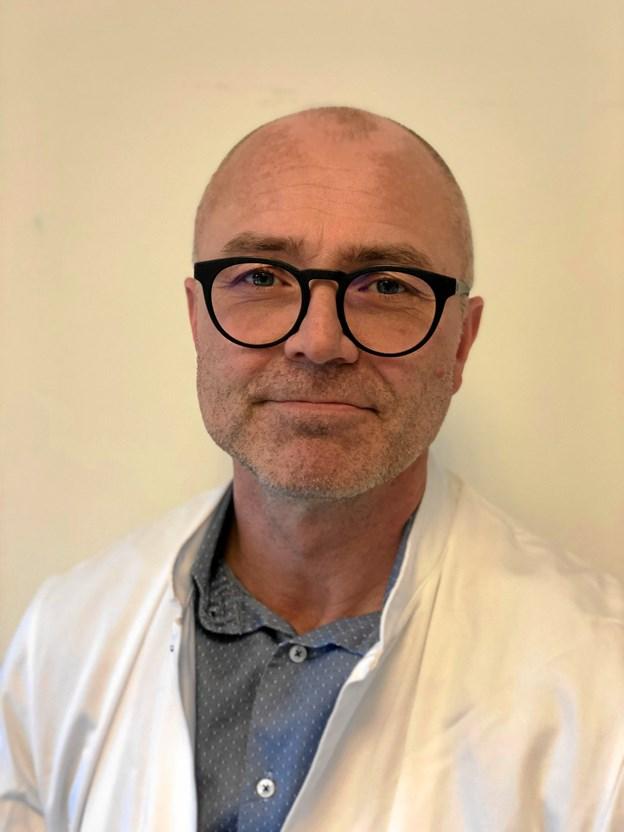 Thomas Larsen er ny sygefaglig direktør for de vendsysselske sygehuse under Regionshospital Nordjylland. Privatfoto