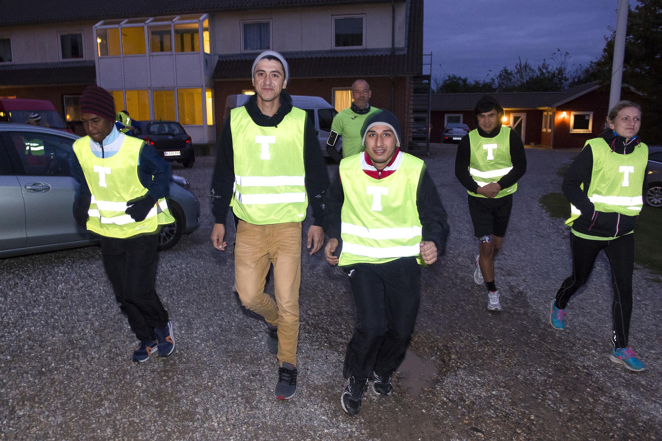 uledsagede flygtningebørn frivillig