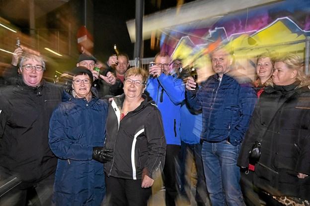 Fra venstre initiativtager Lene Borggard, Bodil Nielsen og Tove Kristensen. Foto: Ole Iversen