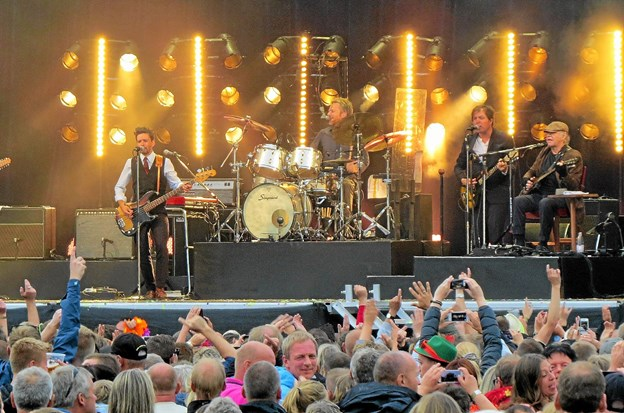 Kim larsen optrådte på Løkken Koncerten flere gange. Arkivfoto: Kirsten Olsen