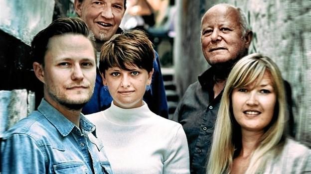 Ole Albrechtsen har en kvartet med sig rundt i regionen til at akkompagnere de lokale artister.Pressefoto