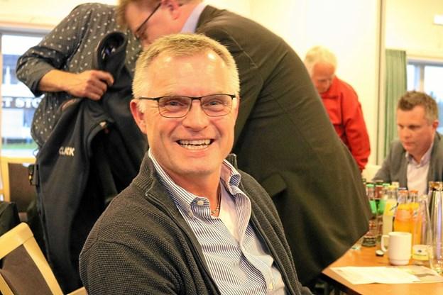 Hasse Christensen der er med i arbejdsgruppen bag kommunen talentsportsklasser glæder sig over den flotte opbakning til ambassadørkorps og ikke mindst fra Frederikshavn Havn A/S som har ydet god støtte til skoleprojektet.