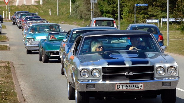 Fars Dag 5. juni byder på amerikanske biler og Harley'er i Vorupør. Arkivfoto: Ole Iversen