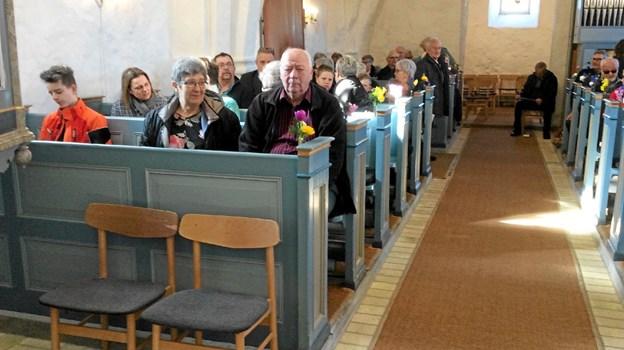 Dagen startede med gudstjeneste. Foto: Privat
