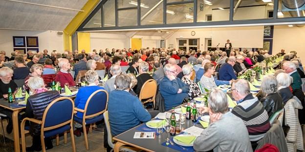 200 af Ældre Sagen Frederikshavn-Læsøs medlemmer deltog i årsmødet.
