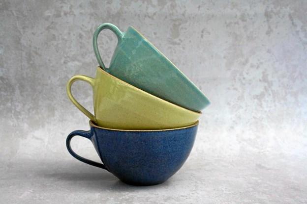 Der vil bl. a. være masser af julegave-ideer indenfor keramik, når der lørdag holdes vintermarked hos Bruuns Keramik i Overlade. Privatfoto