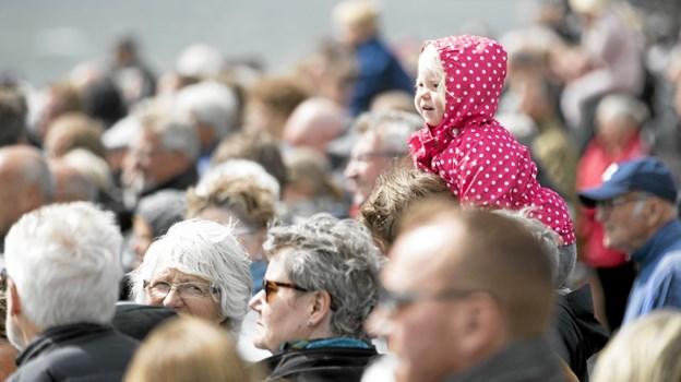 Tusindvis af besøgende lagde vejen forbi Hals. Foto: Allan Mortensen Allan Mortensen
