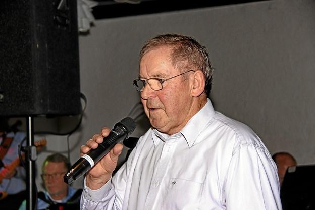 Formanden for Sydthy-Thyholm Seniorer, Harry Gade bød velkommen. Foto: Hans B. Henriksen Hans B. Henriksen