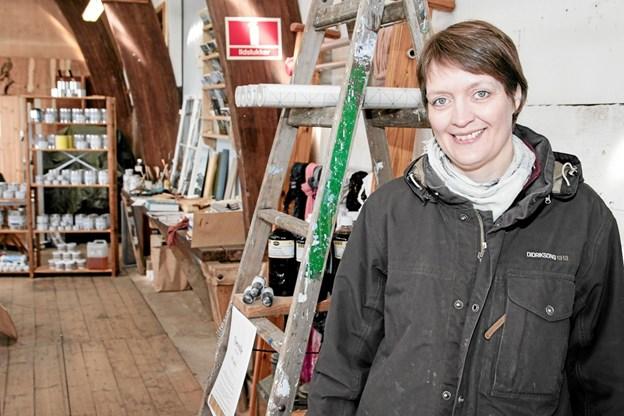 Sussi Skougaard fortæller, at hun altid har haft et stort ønske om, at få sin egen butik. Peter Jørgensen