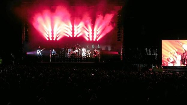 Queen Machine lukkede Rock i Frederikshavn 2019, med en fyldt festivalplads. Foto: Peter Jørgensen Peter Jørgensen