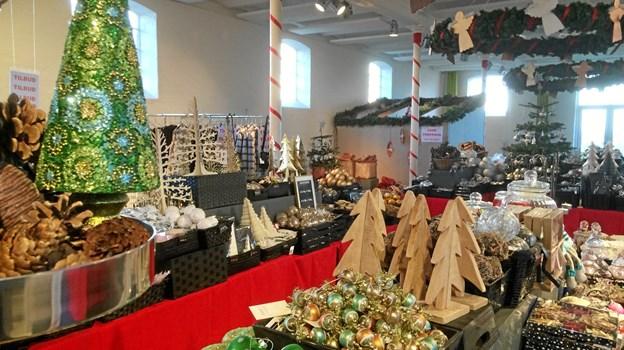 Der er julemarked på Børglum Kloster 1.-2. og 8.-9. december. ?Privatfoto