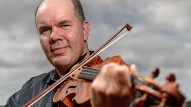 Klaus Pindstrup - står i spidsen for majmusikken i Skørping. Arkivfoto