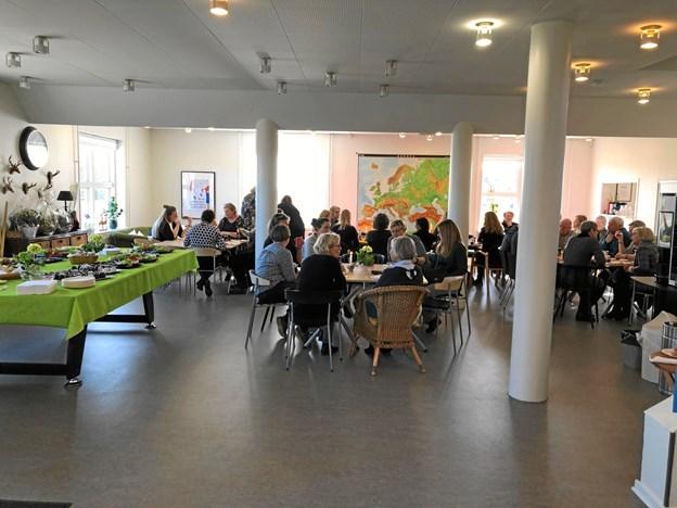 Familiecentrets nye lokaler er åbne, lyse og indbydende. Privatfoto