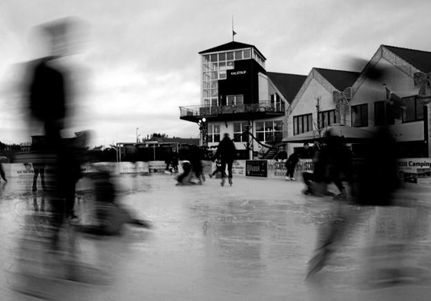 Blokhus skøjtebane: Foto: Thomas Ring Carlsen