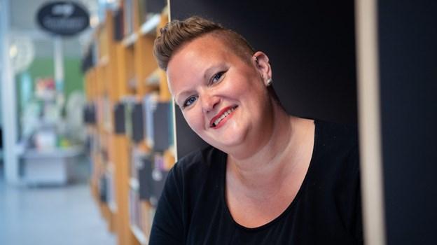 Louise Krogsgaard er leder af Brønderslev Forfatterskole.Foto: Hans Ravn Hans Ravn