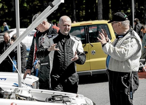 HAK Hill Climb Rally i Tolne. Foto: Peter Jørgensen Peter Jørgensen