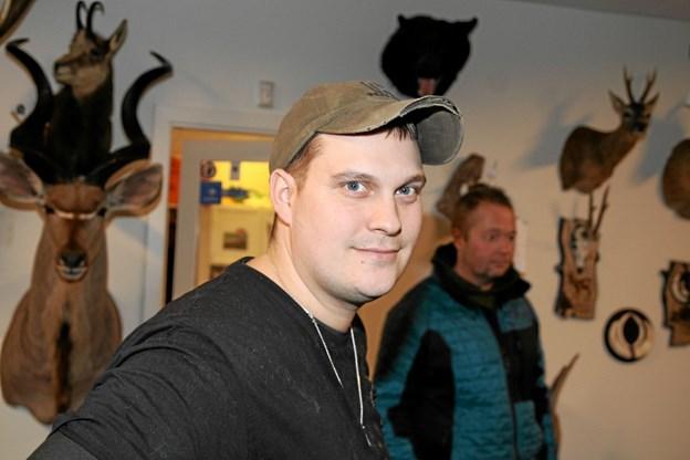 Kasper Pedersen har med Nordjysk Trofæmontering fået en fantastisk start med sit firma. Flemming Dahl Jensen