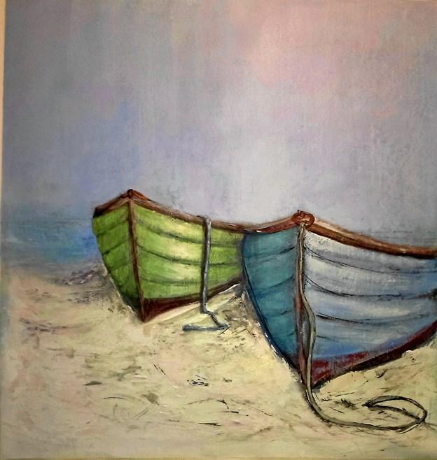 Livet i Skagen forandrer den svenske maler, som har et lille atelier i Skagen.