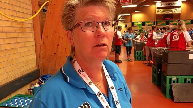 Vi forventer, at der kommer omkring 2200 i aften, siger Hanne Risom