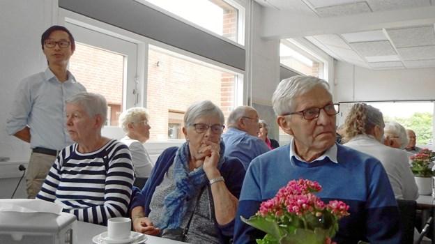 På Fjerritslev Gymnasium berettede rektor Bjarne Edelskov Nielsen om gymnasiets held med at tiltrække nye elever fra hele landet via en nyoprettet kollegieordning.
