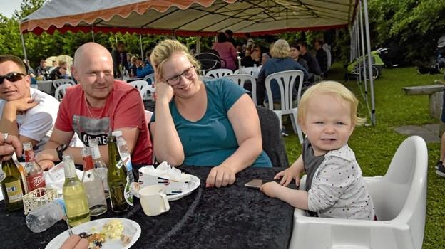 Unge som ældre havde en heldig midsommer aften i Parken i Nors. Foto: Kristian Amby Ole Iversen