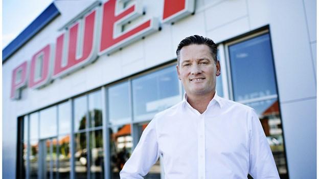 Efter flere års søgen efter lokaler, åbner Power nu i City Syd, fortæller kædens direktør Jesper Boysen. PR-foto
