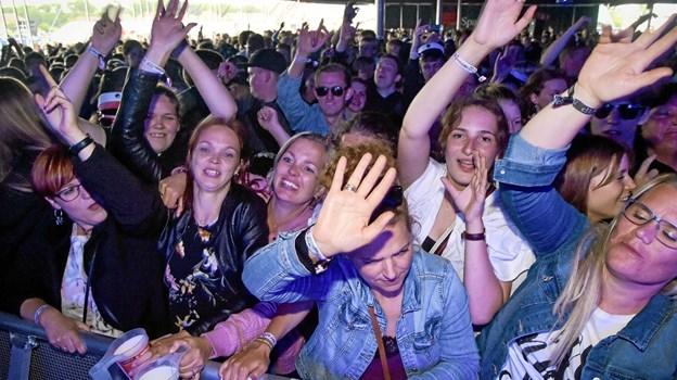 Catos publikum var med fra første dunk.... Foto: Ole Iversen