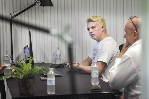 Torben Nielsen håber, at ansvaret i Greybox kan give sønnen nogle brugbare erfaringer til fremtiden.