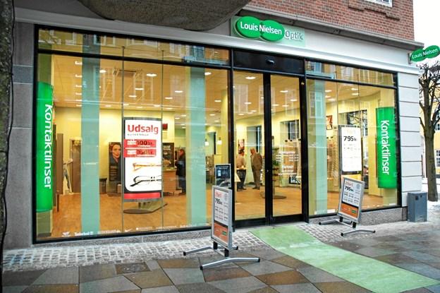 Butikken i Aalborg er efter ombygningen landets største Louis Nielsen.PR-foto