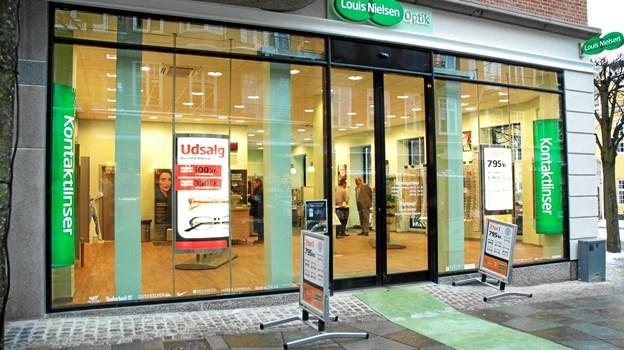 15515b7f2565 Butikken i Aalborg er efter ombygningen landets største Louis Nielsen.