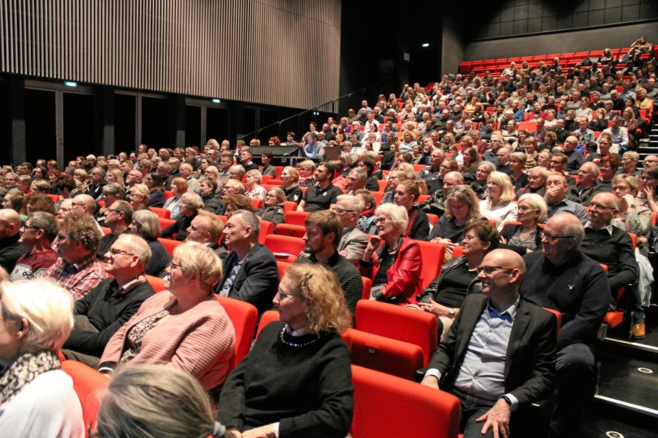 Hjerne Madsens foredrag landet over er meget populære. Privatfoto