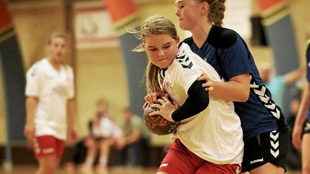 Damerne i serie 4 tabte søndag 12-25 hjemme mod Øster Brønderslev. Foto: Allan Mortensen