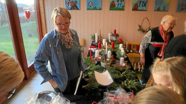 FDF har julemarked i Gandrup 25. november. Foto: Allan Mortensen