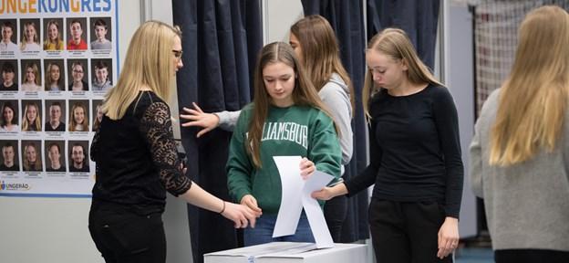 Det er kommunens store arbejde med at inddrage unge i demokratiet, der nu roses af Dansk Ungdoms Fællesråd. Arkivfoto: Hans Ravn