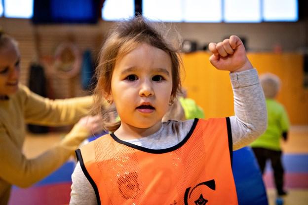 Foto: Kim Dahl Hansen   Frederikshavn - Vuggestuedag i atletcentret ved Arena Nord Foto: Kim Dahl Hansen