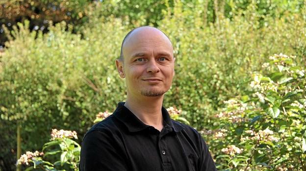 Kim Domino Evers er indehaveren af det nye IT-firma på Thyholm.Foto: Hans B. Henriksen