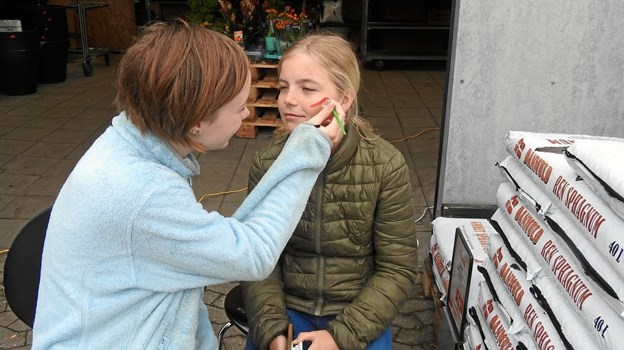 Nogle fik en gang ansigtsmaling. Foto: Jens Brændgaard