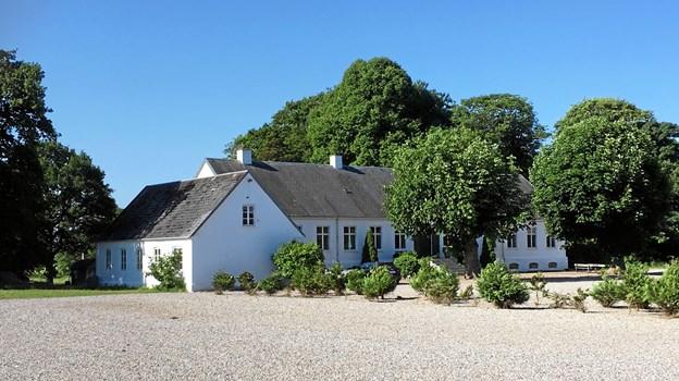 Ny Vraa herregård i Tylstrup åbner et madmarked med lokale gårdbutiksvarer.PR-Foto
