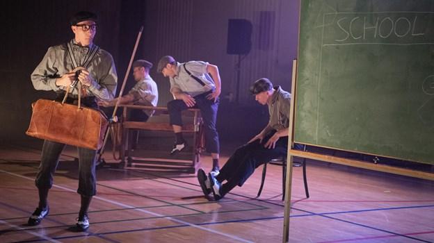 Just Blazin' er teater Uppercuts forestilling til unge.Foto: Bente Poder