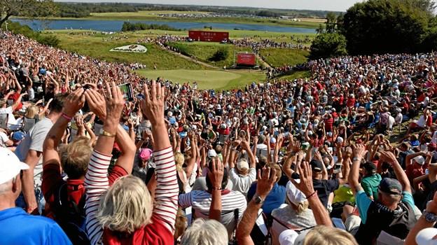 Alle Vesthimmerlands Kommunes 6. klasser får onsdag formiddag chancen for at snuse til golfsporten som optakt til årets Made in Denmark-turnering. Privatfoto