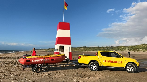 På fredag bemandes livreddertårnene på Skagen Sønderstrand og Palmestranden i Frederikshavn