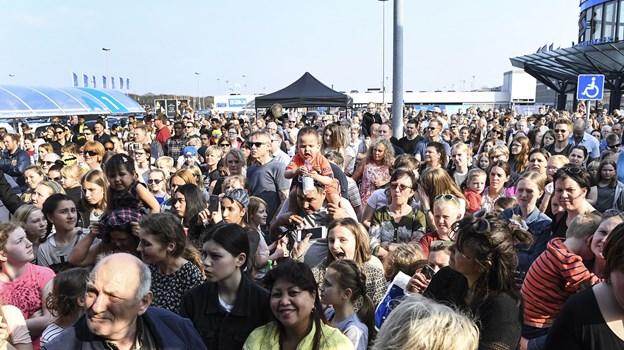 Det tiltrækker altid et stort publikum, når ANR holder live koncerter. Arkivfoto: Bent Bach