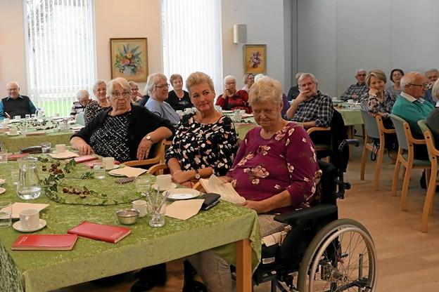 Omkring 30 tilhørere var på plads. Foto: Allan Mortensen Allan Mortensen