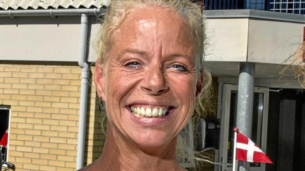 Irene Lerche er glade for støtten, der bruges til sociale aktiviteter for børnene.