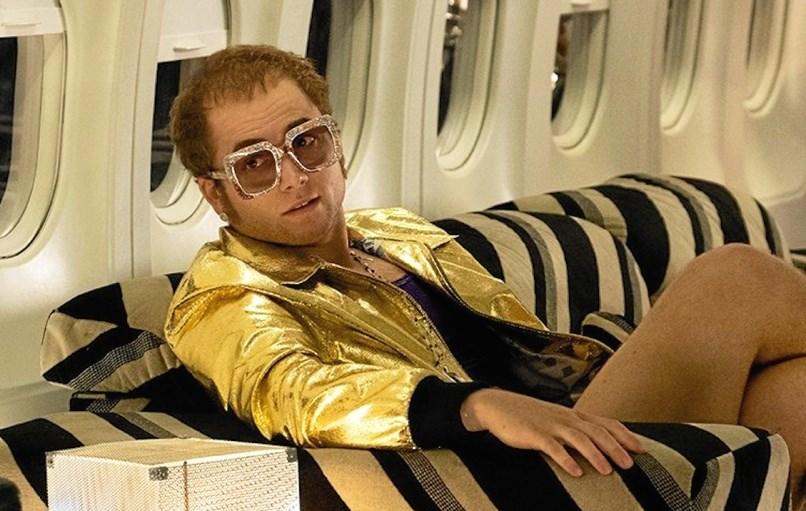 Tarib Egerton i rollen som Elton John. PR-fotos