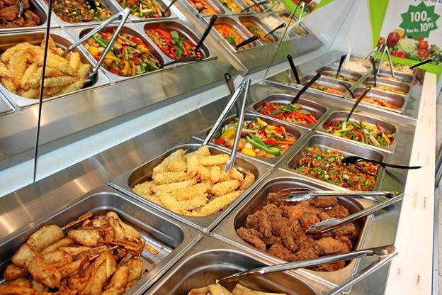 Den nye café byder på sund mad og thairetter til SU-venlige priser. Privatfoto