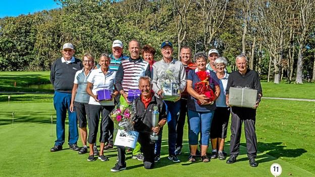 Deltagerne i klubmesterskabet over de to week-ender. Foto: Mogens Lynge