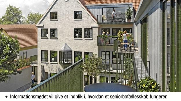 Der indrettes 17 arkitektegnede lejligheder i den gamle hotelbygning i hjertet af Skørping by.  Forventet indflytning er ultimo 2020.