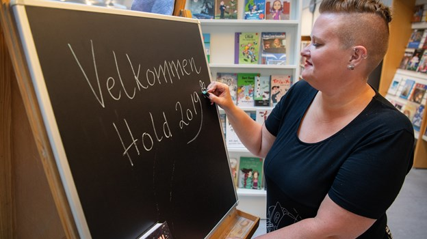 70 unge fra hele landet kommer til Brønderslev Forfatterskole 27. juli til 3. august.Foto: Hans Ravn